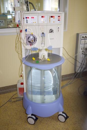 Genius, mobiles Dialysegerät im Dialysecentrum, Standort Pegnitz