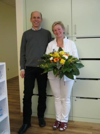 Petra Hertrich und Dr. Johannes Hägel