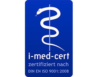 i-med-cert DIN EN ISO 9001:2008
